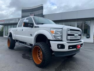 Used 2015 Ford F-350 Platinum 4WD DIESEL LIFTED 24