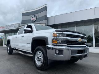 Used 2016 Chevrolet Silverado 2500 HD LT 4WD Z71 CREW LB DIESEL HEATED SEATS REAR CAM for sale in Langley, BC