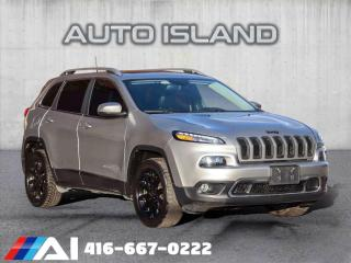 Used 2016 Jeep Cherokee LIMITED**4WD**V6**LEATHER**PANORAMIC SUNROOF for sale in North York, ON