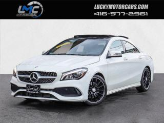 Used 2017 Mercedes-Benz CLA250 4MATIC AMG PREMIUM PLUS SPORT PKG-PANOROOF-CAMERA-59KMS for sale in Toronto, ON