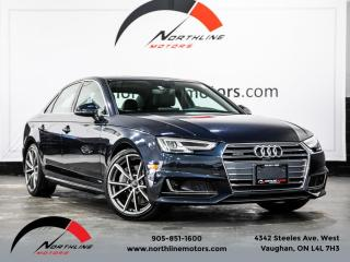 Used 2017 Audi A4 Quattro|Technik|S-Line|Navigation|B&O Sound|360 Camera for sale in Vaughan, ON