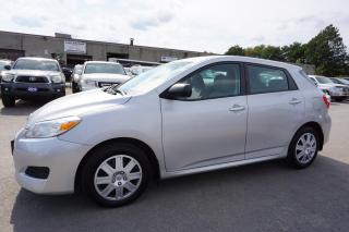 Used 2012 Toyota Matrix AUTO CERTIFIED 2YR WARRANTY CRUISE AUX POWER OPTIONS for sale in Milton, ON