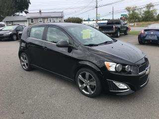 Used 2016 Chevrolet Sonic RS Auto 5-Door for sale in Truro, NS