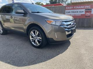 Used 2013 Ford Edge Limited call/text 519-732-7478. Equipped with every option. Beautiful. for sale in Brantford, ON