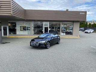 Used 2017 Audi A4 Technik for sale in Langley, BC