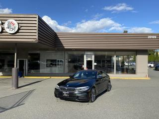 Used 2019 BMW 5 Series 530i xDrive - M PACKAGE WITH AUTONOMOUS BRAKING for sale in Langley, BC