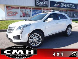 Used 2018 Cadillac XT5 Premium Luxury AWD  NAV CAM PANO CLD-SEATS for sale in St. Catharines, ON