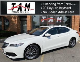 Used 2016 Acura TLX 9-Spd AT SH-AWD w/Technology Package NAVI Sunroof Heated Seats Power Seats for sale in North York, ON