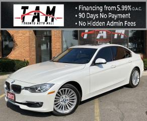 Used 2013 BMW 3 Series 328i xDrive Sedan NAVI Sunroof Leather Keyless Entry Power Seats Clean Carfax Low Km! for sale in North York, ON