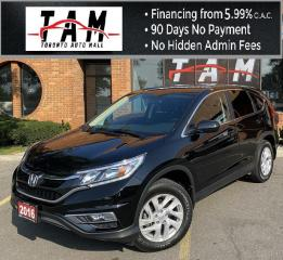 Used 2016 Honda CR-V SE 4WD Back-Up Camera Heated Seats Bluetooth Keyless Entry Clean Carfax No Accidents Low Km! for sale in North York, ON