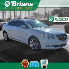 Used 2015 Buick LaCrosse w/Command Start, Backup Camera, Leather, Cruise Control, A/C for sale in Saskatoon, SK