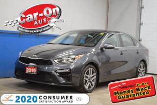 Used 2019 Kia Forte EX+ SUNROOF ALLOYS for sale in Ottawa, ON