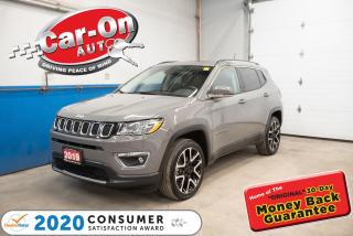 Used 2019 Jeep Compass LIMITED LOADED PANO ROOF | NAV | LEATHER for sale in Ottawa, ON