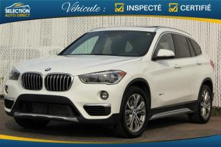 Used 2017 BMW X1 28i XDRIVE TOIT PANORAMIQUE for sale in Ste-Rose, QC