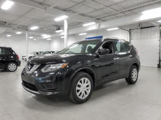 Used 2016 Nissan Rogue S - CAMERA + BLUETOOTH + CRUISE + JAMAIS ACCIDENTE for sale in St-Eustache, QC