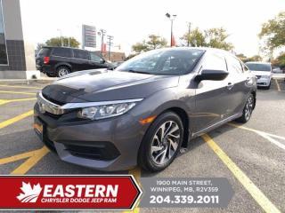 Used 2016 Honda Civic Sedan EX | 1 Owner | Remote Start | Multi-Angle Rearview Cam | for sale in Winnipeg, MB