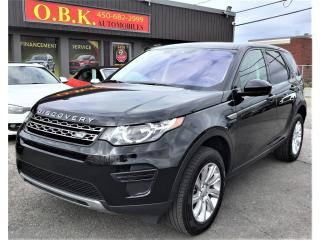 Used 2018 Land Rover Discovery Sport SE-AWD-CAMERA DE RECUL-TOIT PANO-BLUETOOTH for sale in Laval, QC