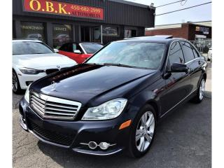 Used 2013 Mercedes-Benz C-Class C 300-4MATIC-BLUETOOTH-TOIT OUVRANT- for sale in Laval, QC