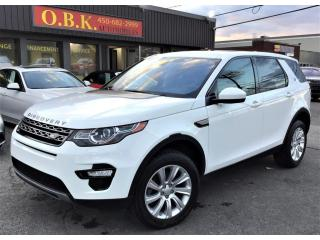 Used 2017 Land Rover Discovery Sport AWD-SE-NAVIGATION-CAM RECUL-TOIT PANO-BLUETOOTH for sale in Laval, QC