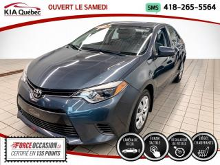 Used 2016 Toyota Corolla ** LE ** AT * A/C * CAMERA * CRUISE * for sale in Québec, QC