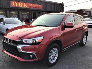 Used 2016 Mitsubishi RVR AWD-SE-CAMERA DE RECUL-BLUETOOTH-GR ELECTRIQUE for sale in Laval, QC