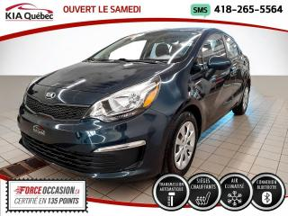 Used 2017 Kia Rio LX+* AT* A/C* SIEGES CHAUFFANTS* for sale in Québec, QC