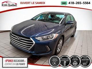 Used 2018 Hyundai Elantra ** GL ** APPLE CARPLAY * VOLANT CHAUFFAN for sale in Québec, QC