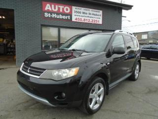 Used 2009 Mitsubishi Outlander XLS 4WD ** 7 PLACES ** for sale in St-Hubert, QC