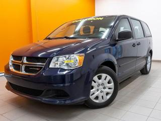 Used 2015 Dodge Grand Caravan CLIMATISATION MULTIZONES RÉGULATEUR *BAS KM* for sale in Mirabel, QC