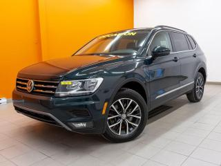 Used 2018 Volkswagen Tiguan COMFORTLINE 4MOTION TOIT PANO SIÈGES CHAUFF *CUIR* for sale in Mirabel, QC