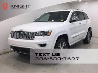 New 2021 Jeep Grand Cherokee Overland | Leather | ProTech Group | Sunroof | Navigation | for sale in Regina, SK