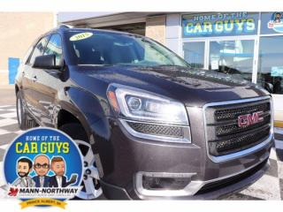 Used 2015 GMC Acadia SLE | One Owner, Remote Start. for sale in Prince Albert, SK