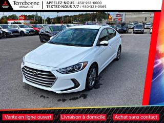 Used 2018 Hyundai Elantra GL**PNEUS HIVER + RIMS**CAPTEURS ANGLES MORTS**VOL for sale in Terrebonne, QC