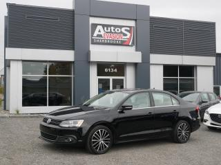 Used 2013 Volkswagen Jetta 2.5L Highline + CUIR + TOIT + BAS KILO for sale in Sherbrooke, QC
