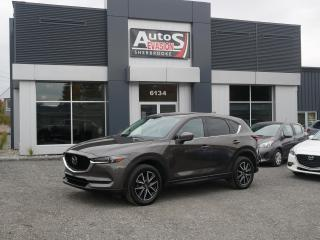 Used 2017 Mazda CX-5 AWD  GT SKYACTIV + GPS + TOIT + CUIR + BAS KILO for sale in Sherbrooke, QC