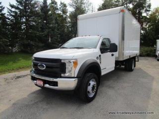 Used 2017 Ford F-550 CARGO MOVING XL EDITION 3 PASSENGER 6.7L - DIESEL ENGINE.. LEATHER.. CD/USB INPUT.. BLUETOOTH SYSTEM.. TOW SUPPORT.. AIR CONDITIONING.. for sale in Bradford, ON