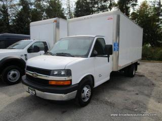 Used 2018 Chevrolet W4500 CARGO MOVING 4500 SERIES 2 PASSENGER 6.0L - VORTEC ENGINE.. TOW SUPPORT.. AUX INPUT.. AIR CONDITIONING.. for sale in Bradford, ON