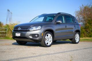 Used 2016 Volkswagen Tiguan Comfortline *APP CONNECT* *HUGE SUNROOF* *KEYLESS ENTRY* *AUTO WIPERS AND LIGHTS** for sale in Surrey, BC