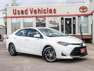 Used 2017 Toyota Corolla LE ALLOYS SUNROOF CAMERA HEAT-SEATS BLUETOOTH for sale in North York, ON