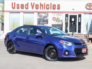 Used 2016 Toyota Corolla S CAMERA ALLOYS SUNROOF WINTER-TIRES EXTRA! for sale in North York, ON