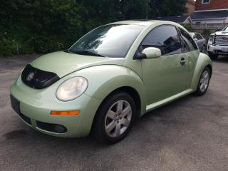 Used 2006 Volkswagen New Beetle TDI DIESEL !!  SUNROOF !! LEAHTER !! for sale in Cambridge, ON