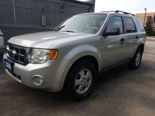 Used 2008 Ford Escape XLT 4X4 !!  CRUISE !!  AIR CONDITINING !! for sale in Cambridge, ON