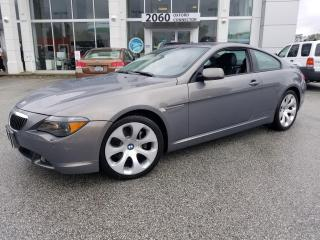Used 2004 BMW 6 Series 645CI for sale in Port Coquitlam, BC