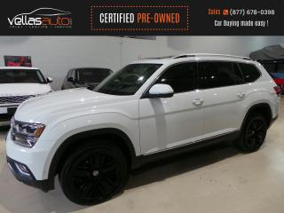 Used 2018 Volkswagen Atlas 3.6 FSI Execline EXECLINE| AWD| 1 OWNER| 20ALLOYS for sale in Vaughan, ON