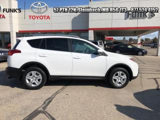Used 2015 Toyota RAV4 4DR AWD LE for sale in Steinbach, MB