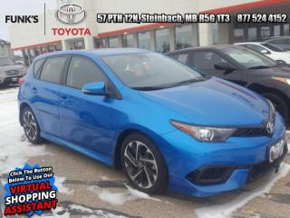 Used 2017 Toyota Corolla iM CVT  - Heated Seats -  Bluetooth for sale in Steinbach, MB