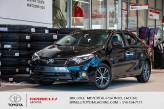 Used 2016 Toyota Corolla LE AMELIORE BAS MILEAGE for sale in Lachine, QC