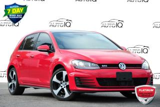 Used 2015 Volkswagen Golf GTI 5-Door Autobahn AUTOBAHN | FWD | 6-SPEED MANUAL for sale in Kitchener, ON