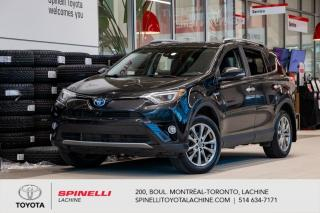 Used 2018 Toyota RAV4 Hybrid Hybrid Limited for sale in Lachine, QC