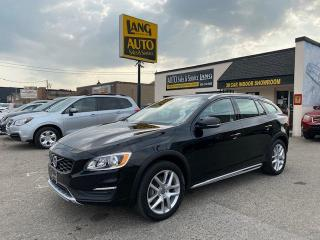 Used 2017 Volvo V60 Cross Country CROSS COUNTRY EDITION, BLIS PACKAGE, IMMACULATE CONDITION! for sale in Etobicoke, ON